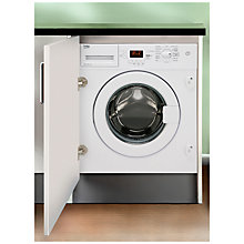 Buy Beko WMI81341 Integrated Washing Machine, 8kg Load, A+ Energy Rating, 1300rpm Spin Online at johnlewis.com