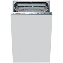 Buy Hotpoint LSTF9H117C Integrated Slimline Dishwasher, Stainless Steel Online at johnlewis.com