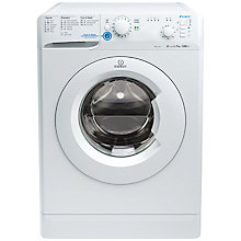 Buy Indesit XWB71252 Freestanding Washing Machine, 7kg Load, A++ Energy Rating, 1200rpm Spin, White Online at johnlewis.com