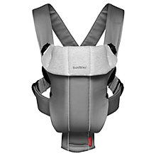 Buy BabyBjörn Original Jersey Baby Carrier, Grey Online at johnlewis.com