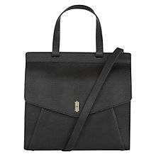 Buy Hobbs Alderley Leather Grab Bag Online at johnlewis.com