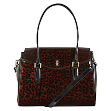 Buy Hobbs Harrogate Work Bag, Tortoise Shell Online at johnlewis.com
