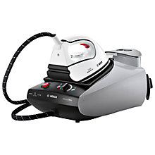 Buy Bosch TDS3521GB Sensixx Steam Generator Iron, White Online at johnlewis.com