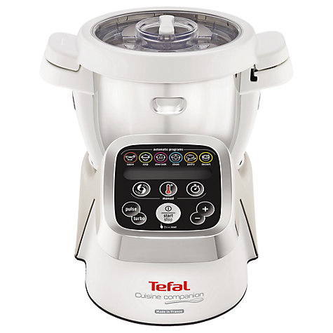 buy tefal cuisine companion cooking food processor white john lewis. Black Bedroom Furniture Sets. Home Design Ideas