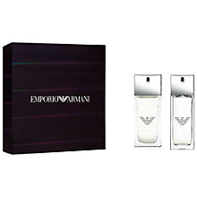 Buy Emporio Armani Diamonds Men 50ml Eau de Toilette Fragrance Gift Set Online at johnlewis.com