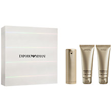 Buy Emporio Armani EA She 50ml Eau de Toilette Gift Set Online at johnlewis.com