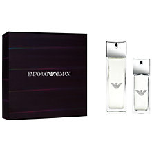 Buy Emporio Armani Diamonds Rocks 50ml Eau de Toilette Fragrance Gift Set Online at johnlewis.com