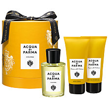 Buy Acqua di Parma Colonia 100ml Eau de Cologne Gift Set Online at johnlewis.com