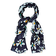Buy White Stuff Changing Seasons Scarf, Navy Online at johnlewis.com