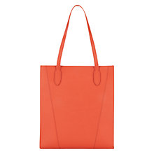Buy Hobbs Guildford Tote Bag, Cinnamon Orange Online at johnlewis.com