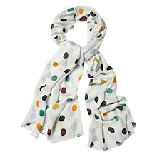 Buy White Stuff Stitch Spot Scarf, Multi Online at johnlewis.com