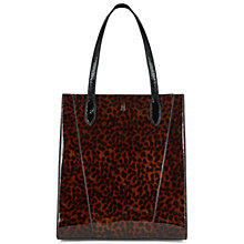 Buy Hobbs Guildford Tote Bag, Tortoise Shell Online at johnlewis.com