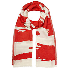 Buy John Lewis Burnt Out Stripe Scarf Online at johnlewis.com