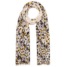 Buy John Lewis Ikat Ditsy Print Scarf, Grey/Multi Online at johnlewis.com