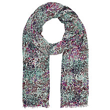 Buy John Lewis Stars Scarf, Green/Multi Online at johnlewis.com