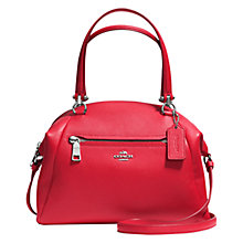 Buy Coach Prairie Leather Satchel Online at johnlewis.com