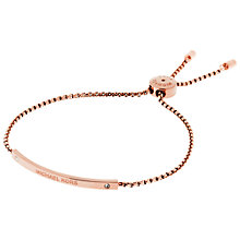 Buy Michael Kors Heritage Slider Extender Bracelet Online at johnlewis.com