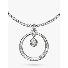 Buy Dower & Hall Open Circle Pendant Online at johnlewis.com