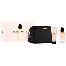 Buy Giorgio Armani Sì 50ml Eau de Parfum Gift Set Online at johnlewis.com