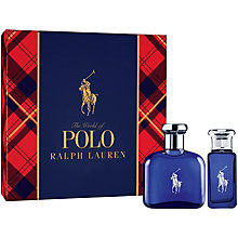Buy Ralph Lauren Polo Blue 75ml Eau de Toilette Fragrance Gift Set Online at johnlewis.com
