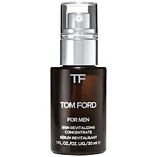 Buy TOM FORD For Men Skin Revitilising Concentrate, 30ml Online at johnlewis.com