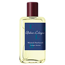 Buy Atelier Mistral Patchouli Cologne Absolue, 100ml Online at johnlewis.com