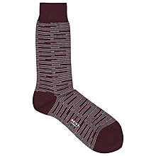 Buy Reiss Donald Stripe Socks, One Size Online at johnlewis.com
