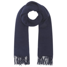 Buy Whistles Wool Fringed Scarf Online at johnlewis.com