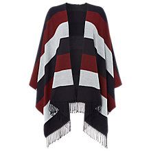 Buy Whistles Double Faced Stripe Cape Online at johnlewis.com