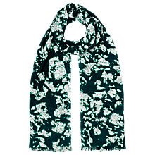 Buy Whistles Smudge Print Scarf, Green Multi Online at johnlewis.com