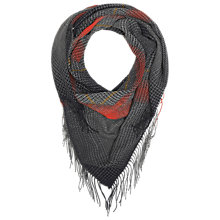 Buy Whistles Check Blanket Scarf, Red Online at johnlewis.com