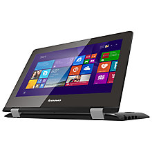 "Buy Lenovo Yoga 300-11 Convertible Laptop, Intel Pentium, 2GB RAM, 32GB eMMC Flash, 11.6"" Touch Screen Online at johnlewis.com"
