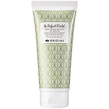 Buy Origins A Perfect World Highly Hydrating Body Lotion with White Tea, 200ml Online at johnlewis.com