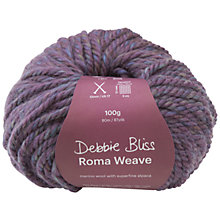Buy Debbie Bliss Roma Weave Super Chunky Yarn, 50g Online at johnlewis.com