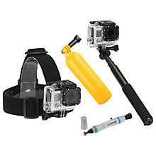 Buy GoPro Sunpak 4 Piece Action Camera Accessory Kit 2 Online at johnlewis.com