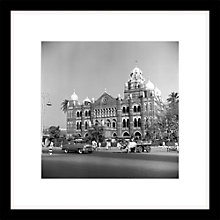 Buy Getty Images Gallery - Telephone Building Bombay Framed Print, 49 x 49cm Online at johnlewis.com