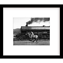 Buy Getty Images Gallery - Steamy Steed Framed Print, 49 x 57cm Online at johnlewis.com
