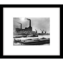 Buy Getty Images Power Station Photograph, Black Frame, 49 x 57cm Online at johnlewis.com