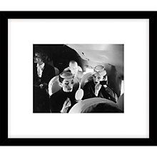 Buy Getty Images Model Travellers 1955 Photograph, Black Frame, 49 x 57cm Online at johnlewis.com