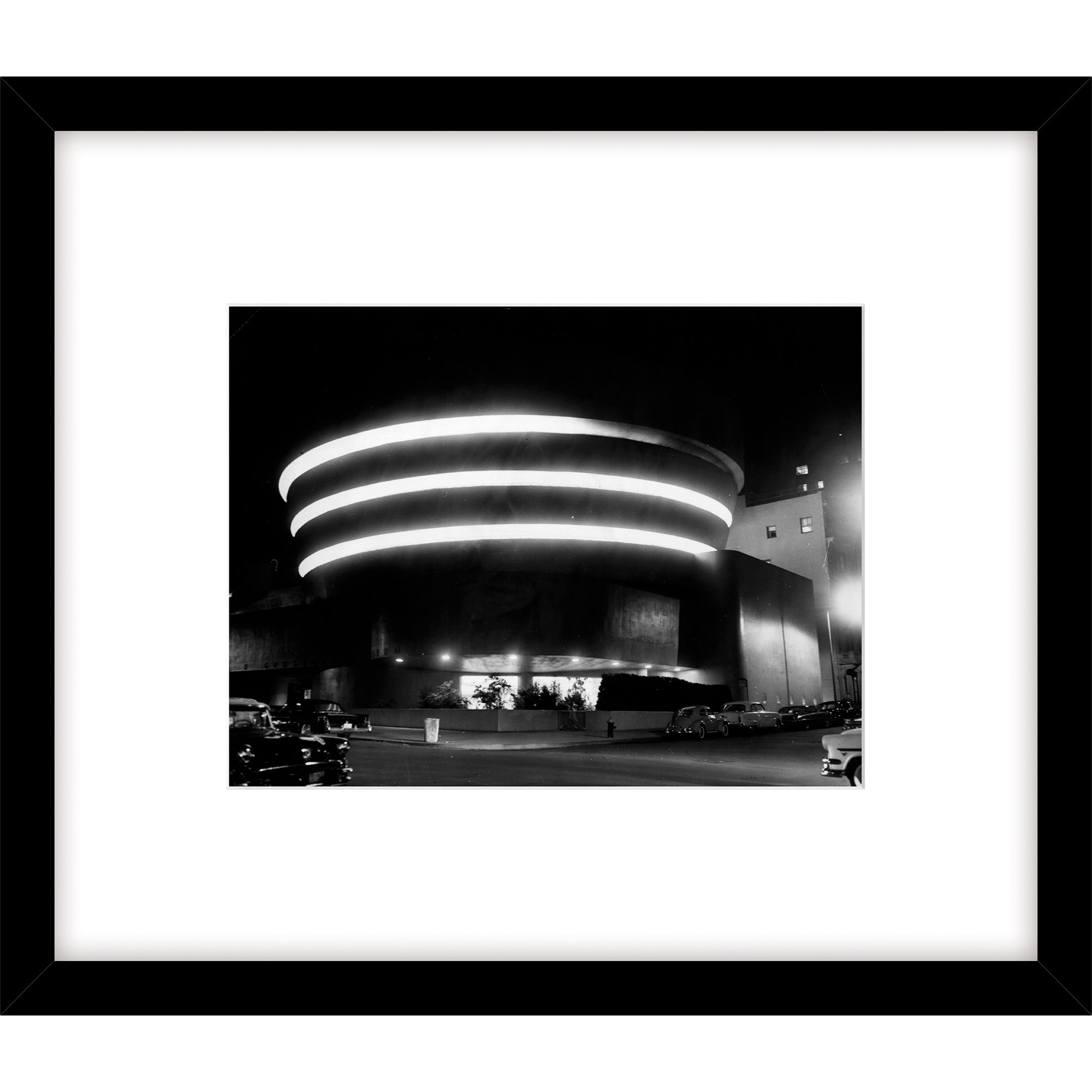 Getty Images Gallery Getty Images Guggenheim Museum Photograph, Black Frame, 49 x 57cm