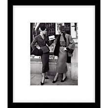 Buy Getty Images Suits by Balmain Photograph, Black Frame, 57 x 49cm Online at johnlewis.com