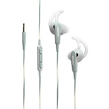 Buy Bose® SoundSport™ Sweat & Weather-Resistant In-Ear Headphones With 3-Button In-Line Remote and Carry Case For iOS Devices Online at johnlewis.com