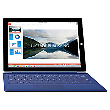 "Buy Microsoft Surface Pro 3 and Pro Type Cover, Intel Core i7, 8GB RAM, Windows 8.1 Pro, 12"", 512GB, Wi-Fi Online at johnlewis.com"