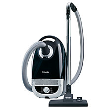 Buy Miele C2 Powerline Dustbag Cylinder Vacuum Cleaner, Black Online at johnlewis.com