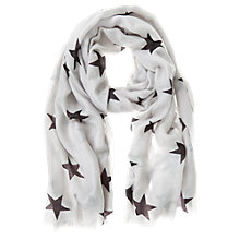 Buy Mint Velvet Star Print Scarf Online at johnlewis.com