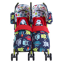 Buy Cosatto Supa Dupa Twin Pushchair, Cuddle Monster 2 Online at johnlewis.com