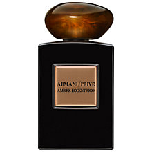 Buy Giorgio Armani Prive Ambre Eccentrico Eau de Parfum, 100ml Online at johnlewis.com