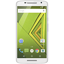 "Buy Motorola Moto X Play Smartphone, Android, 5.5"", 4G, SIM Free, 16GB Online at johnlewis.com"
