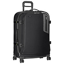 Buy Briggs & Riley Explore Expandable 4-Wheel Large Suitcase, Black Online at johnlewis.com