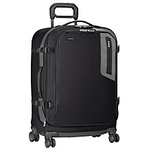 Buy Briggs & Riley BRX Explore Medium 4-Wheel Suitcase, Black Online at johnlewis.com